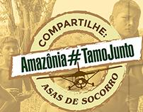 FOLDER - ASAS DE SOCORRO AMAZÔNIA#TAMOJUNTO! 2015