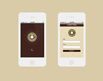 UI Prototype for iOS App
