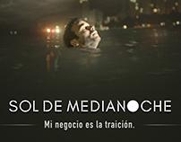 SOL DE MEDIA NOCHE Movie Poster Design