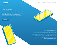 Isometric Website