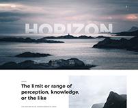 Horizon UI Concept
