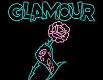 "GLAMOUR ""Glitter Stomp"" t-shirt"
