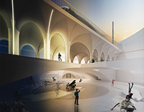 ROME CONCRETE HALL | Architecture Competition