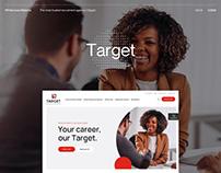 Target HR - UX/UI - Recruitment & HR Solutions
