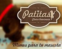 Branding Empresarial para Patitas - Clinica Veterinaria