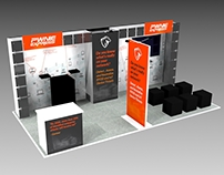 Convention Booth Design for Pwnie Express