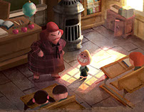 Personal project based on a childrens books.