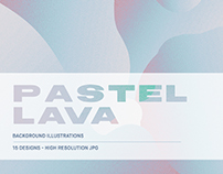 Pastel Lava - Background Pack