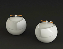 Tales-Tea set design 神話言-「官」中式茶具組設計