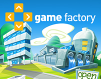 Game Factory Website Illustrations
