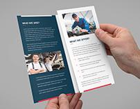Brochure – Auto Repair Tri-Fold Template