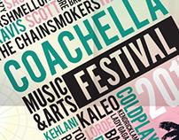 3-fold poster for Coachella
