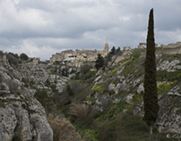 View of Gravina in Apulia region