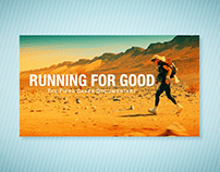 'Running For Good' Documentary Film Graphics