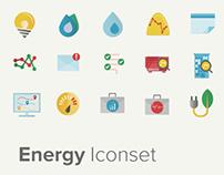 Energy iconset
