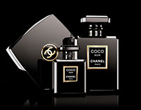 Coco Chanel Noir virtual photo set