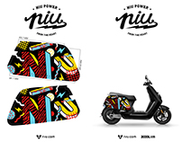 NIU electric motor - Graphic Design