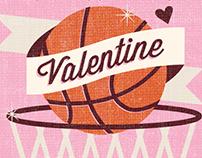 University Journal Valentine's Day Cards
