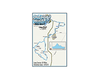 Old Man Winter Bike Rally Map