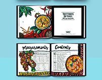 Illustrated Tavel-Cookbook Design