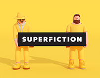 SUPERFICTION Identity Design