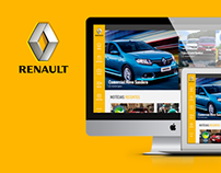 Fala Renault - Redesign
