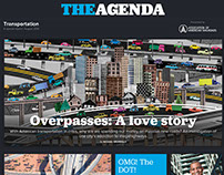 Art Direction, The Agenda: Transportation issue
