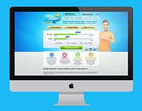 Займы Online - дизайн сайта