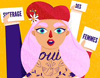 """Yeguas"" Book - Illustration"