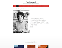 Toni Maraini Website