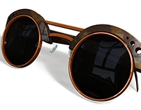Product Visualization - Steampunk Sunglasses
