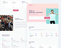 Bukalapak Career Landing Page Redesign