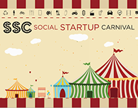 Social Startup Carnival- banners & posters