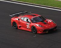 El Ferrari F430 GT3 y el F430 Scuderia GT3 Sports Car