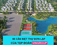 Biệt thự Vinhomes Green Villas Tây Mỗ Từ Liêm Hà Nội