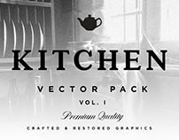 Kitchen Cooking Vector Set