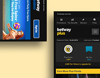 Betway Plus Mailer Redesign