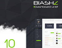 Blashz - Dashboard ui