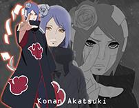 Konan Akatsuki Photoshop