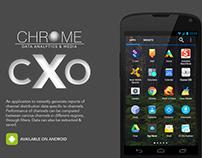 Chrome Data Analytics & Media – CXO Application