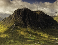 The majesty of Glencoe . The magic of Skye.