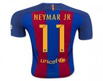 Camisetas de futbol Neymar Jr