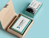Logo, webdesign & visual identity | Laursen Coaching