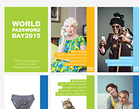 World Password Day 2015 Social Graphics