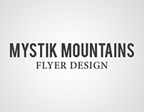 Mystik Mountains - Graphic Design