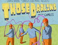 Those Darlins Concert Poster