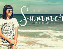 50 Free Summer Photoshop Actions