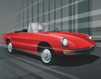 El Graduado - Alpha Romeo Spider