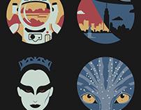 Fox Movies Icon Set
