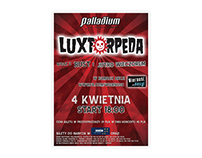 Plakat - koncert zespołu Luxtorpeda